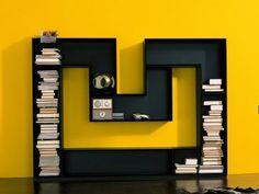 M shape shelf