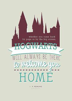 Hogwarts is home.