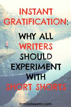 Why All Writers Should Experiment with Short Shorts tomiadeyemi.com