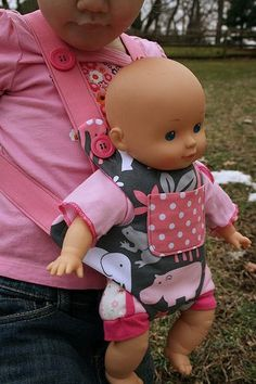 bear/doll carrier. this is kind of hilarious to me, and yet I think my kids would love it.