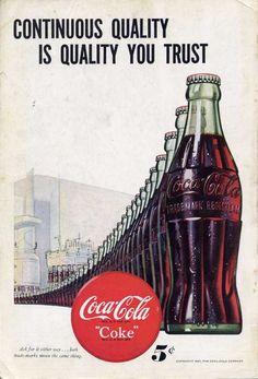 coca cola vintage reclame