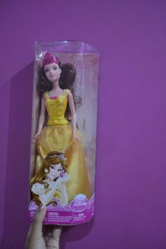Belle barbie doll. Please don't leave me. I love you. –Belle (Beauty and the Beast)
