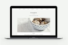 Kindred - A Food & Lifestyle Blog by Station Seven on @creativemarket. Price $ 49