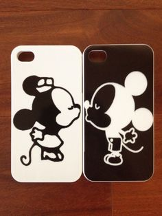 His & Her: Mickey & Minnie iPhone cases