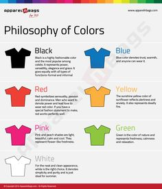Philosophy of Colors - Where Do You Fit In? #Infographics — Lightscap3s.com