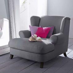 Für einen bequem, für zwei kuschelig: Sessel in Übergröße