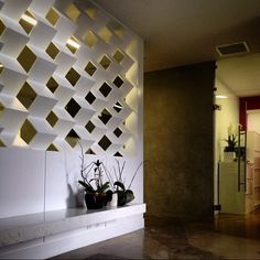 Furniture Storage, Bathroom Furniture, Divider Ideas, Privacy Walls, Hot Springs, Condo, Wall Lights, Lounge, Shades