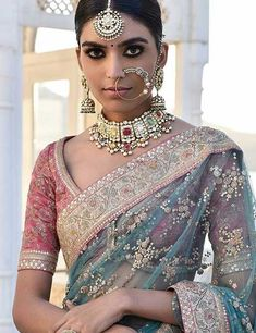 50 Latest Saree Blouse Designs For 2019 That Will Amaze You Sabyasachi Sarees, Indian Sarees, Indian Wedding Sarees, Silk Sarees, Indian Weddings, Pakistani, Indian Wedding Outfits, Indian Outfits, Indian Clothes