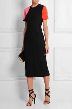 Roksanda Turnham color-block stretch wool-blend dress NET-A-PORTER.COM