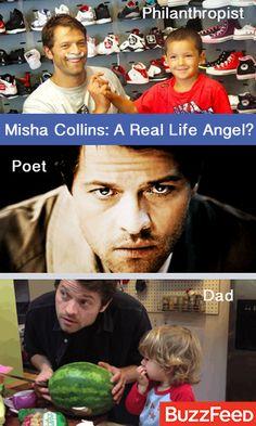 15 Reasons Misha Collins Is An Angel Amongst Men! **Swoon**