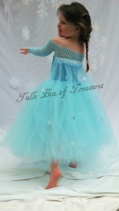 Frozen inspired Elsa Costume by TulleBoxofTreasures on Etsy