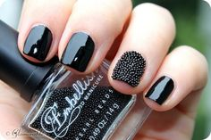 Glamorable!: Mani Monday: PRIMARK Embellish 3D Caviar #Manicure #nails #manimonday #nailart #beauty