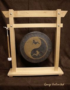 14 inch Twin Yang Gong on Wooden Girl Stand w/ Mallet by Gongs Unlimited. $344.00. Yes, these are available, and yes they come with a mallet. It can be soft enough and mellifluous that you feel as though you are being carried on gossamer wings of acoustic love, while sailing past the full Keith Moon, that spunky white orb encrusted with the madness of men, and the mind tricks of mensa martinets.