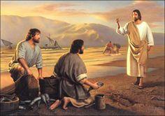 DIOS ME HABLA HOY: Mateo 4, 18-22 Llamó a Pedro y a su hermano Andrés http://es.catholic.net/op/articulos/63851/saberme-mirado-amado-y-llamado.html