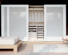43 trendy bedroom closet ideas built in wardrobe cabinets Wardrobe Door Designs, Wardrobe Design Bedroom, Diy Wardrobe, Closet Designs, Wardrobe Storage, Perfect Wardrobe, Bedroom Closet Doors Sliding, Closet Bedroom, Home Bedroom