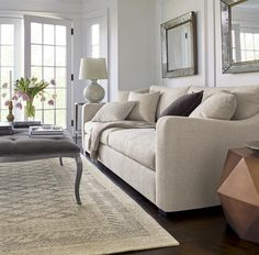 Love the rug and it all!     What's your favorite #CrateandBarrel sofa? The Verano Sofa (pictured here) is one of our most-loved. Click the link in our bio to find your favorite!