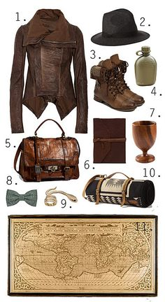 I would wear most of this ONLY to sing/ hum the theme song ALLLLL the live, long day.----Indiana Jones style