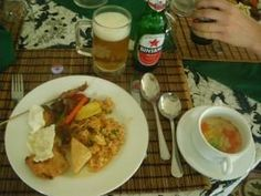 Friday's Featured Food: Indonesian Buffet Lunch in Yogyakarta Yogyakarta, Thai Red Curry, Buffet, Friday, Lunch, Chicken, Meat, Ethnic Recipes, Food