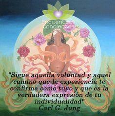 #jung #carl #expresion #camino #voluntad #conciencia #quotes #frases #energia #chakras #despertar #alma #espiritu #amor #transformacion Argentina: argentina@econcie... Chile: info@econcientes.com www.econcientes.com www.facebook.com/ecoespiritual
