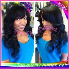 Black Wig Bunn 51