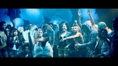 Timbaland - Hands In The Air ft. Ne-Yo.  Love Kathryn's dance moves in this video!  Great song to dance in tha club.