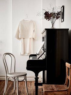 Inspiratieboost: een piano als eyecatcher in huis - Roomed