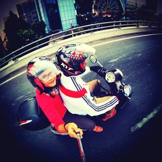 Ride with Gopro