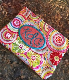 Looking for your next project? You're going to love In the hoop cosmetic bag embroidery file by designer Hug Longer.