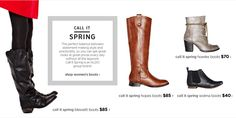 Call it Spring at JCPenney nails every boot trend we're loving this season. $40 and up