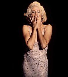 """Photo : Mira Sorvino a interprété le rôle de Marilyn Monroe dans le téléfilm """"Norma Jean & Marilyn"""" en 1996."""
