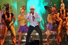 Netinho no seu show em São Paulo em 14 de maio de 2011 no Estancia Alto da Serra.