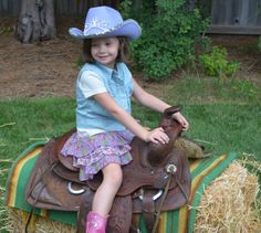 Lily's Purple Cowgirl 5th Birthday | CatchMyParty.com