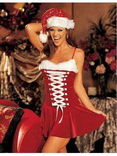 Red lovely Spaghetti Strap White Lace Up Chrismas Dress Item No : W4074 Sales Price : US$ 8.18