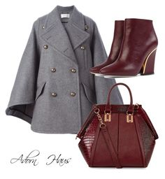 """""""Burrrr-Gundy"""" by msgolden ❤ liked on Polyvore featuring Chloé"""
