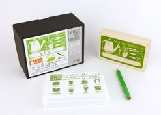 "establish. - ""From the Garden of: _____"" Activity Stamp Kit"