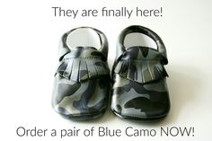 Blue Camo, Baby Moccasins, Baby Shoes, Pairs, Cute, Baby Boy Moccasins, Kawaii, Crib Shoes