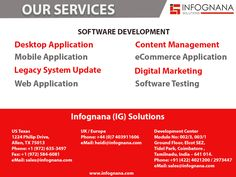 Infognana solutions is one of the leading software development company in Dallas.
