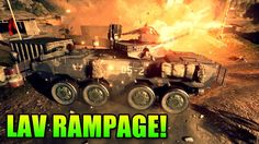 Double Vision: LAV Rampage On Dragon Pass (Battlefield 4 Gameplay/Commen...
