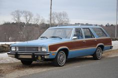 1978 Ford Fairmont Squire Wagon, 3.3 liter inline 6cyl/C4 Auto