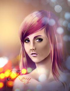 Roxy real look by fantazyme on DeviantArt