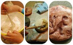 Homemade fossils: Camp Craft