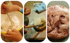 Homemade fossils: Camp Craft