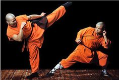 Monks at the Shaolin Temple study Buddhism and the martial art of kung fu. Description from pinterest.com. I searched for this on bing.com/images