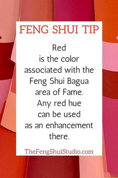 Feng Shui has a special place in your home for each color of the rainbow. When you work with the Feng Shui Bagua areas and color you can create a Feng Shui home that supports and nurtures you and your family. Feng Shui Basics, Feng Shui Rules, Feng Shui Art, Feng Shui Tips, Feng Shui And Vastu, Feng Shui Master, Feng Shui Bedroom, Feng Shui Studio, Feng Shui Office