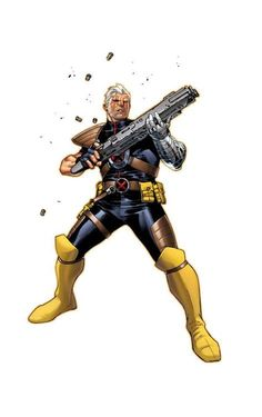 Cable by Olivier Coipel Marvel Xmen, Marvel Dc Comics, Comic Book Covers, Comic Books, Ben Oliver, Cable Marvel, New Avengers, Marvel Entertainment, Batman And Superman