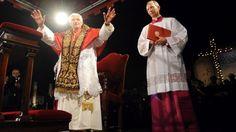 El papa Benedicto XVI renuncia