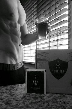 """This here is """"man tea"""" what do you think? ;D Man Tea by @yourtea is specifically developed to help promote a lean, defined & muscular physique."""