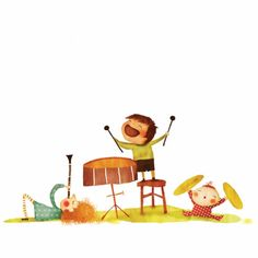 Eva Garces musical children, I enjoy the clarinet girl the most