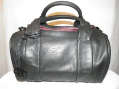 Black Vegan Leather Satchel copy copy from Deluxe for $53.00