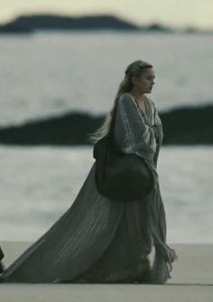Clara on the western shore.waiting to be reunited with her family. High Fantasy, Medieval Fantasy, Tristan Isolde, Sophia Myles, The Sorcerer's Apprentice, Celtic Goddess, Bride Book, Gibson Girl, Anne Of Green Gables